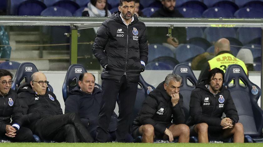 """Conceição admite que FC Porto """"poderia ter feito mais"""" contra o Varzim"""
