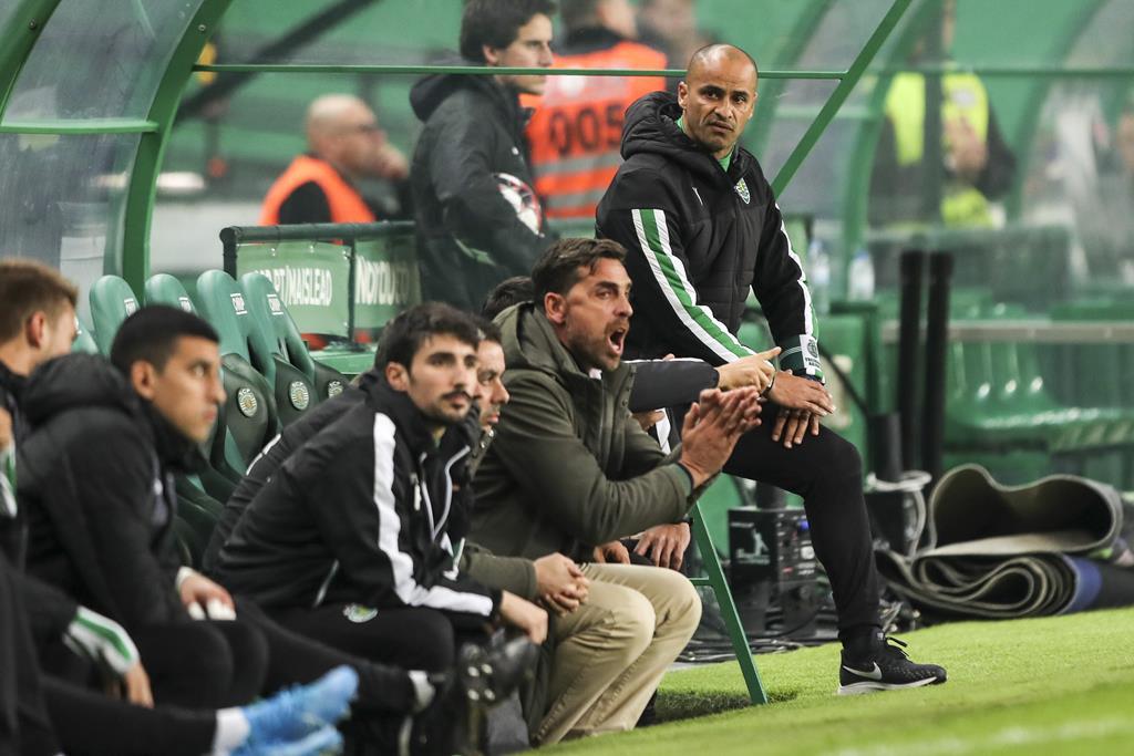 """Beto desempenhou funções de """"team manager"""" do Sporting Foto: Miguel A. Lopes/Lusa"""