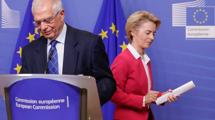 Borrell pede a líderes da UE que adotem sanções à Bielorrússia após bloqueio de Chipre
