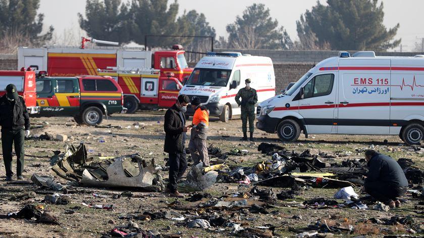 """""""Preferia ter morrido a ter visto uma coisa destas"""". Irão assume culpa pela queda de avião ucraniano"""