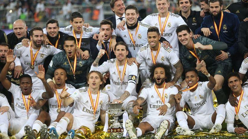 Plantel do Real Madrid concorda com redução salarial até 20%