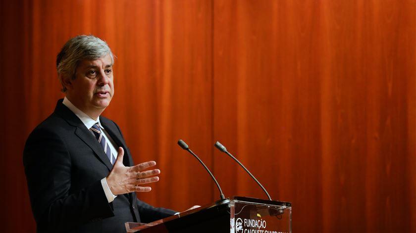 """Centeno admite recessão, mas """"país nunca esteve tão bem preparado para uma crise"""""""