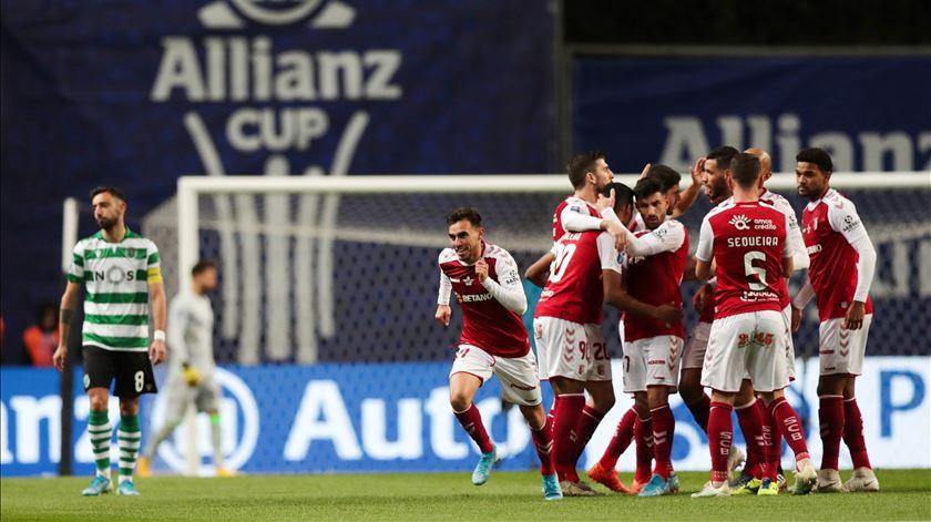 Braga bate Sporting e marca lugar na final da Taça da Liga