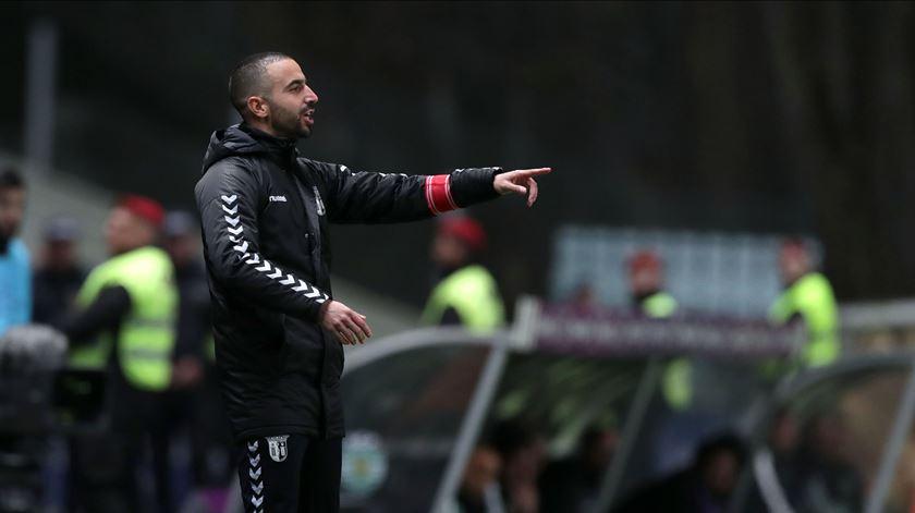 """Contra 11 ou contra 10, Rúben Amorim acredita que o Braga """"foi superior"""""""