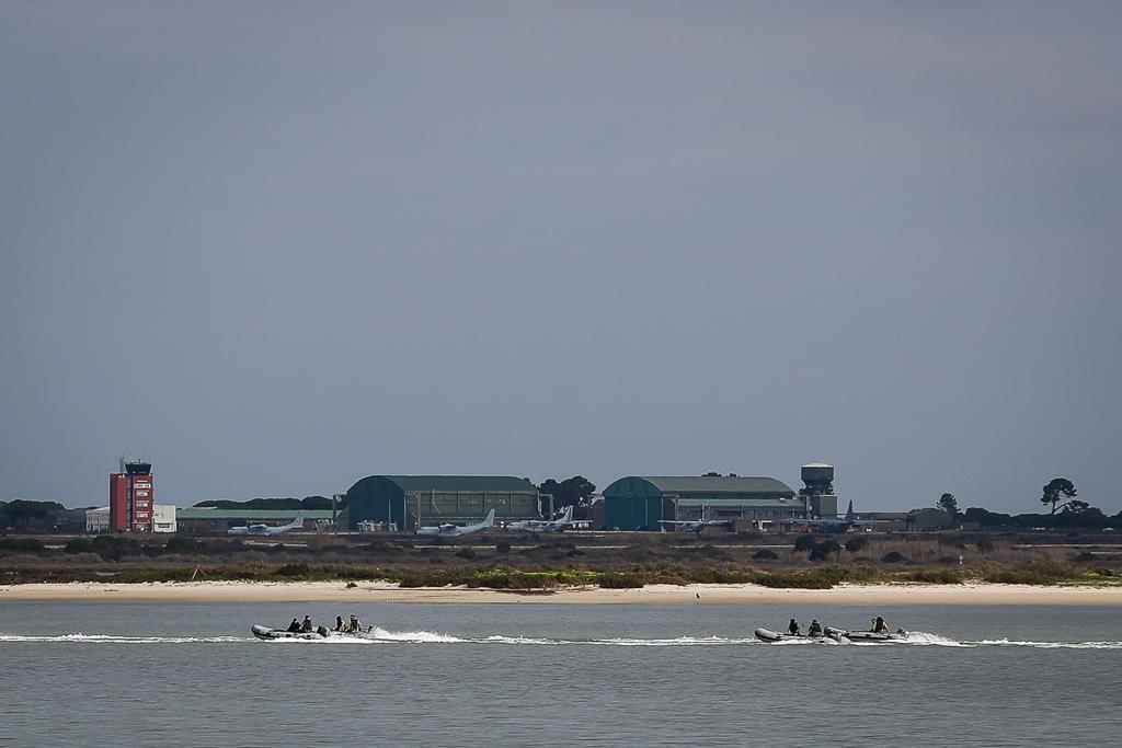 Os terrenos do novo aeroporto do Montijo. Foto: Mário Cruz/Lusa