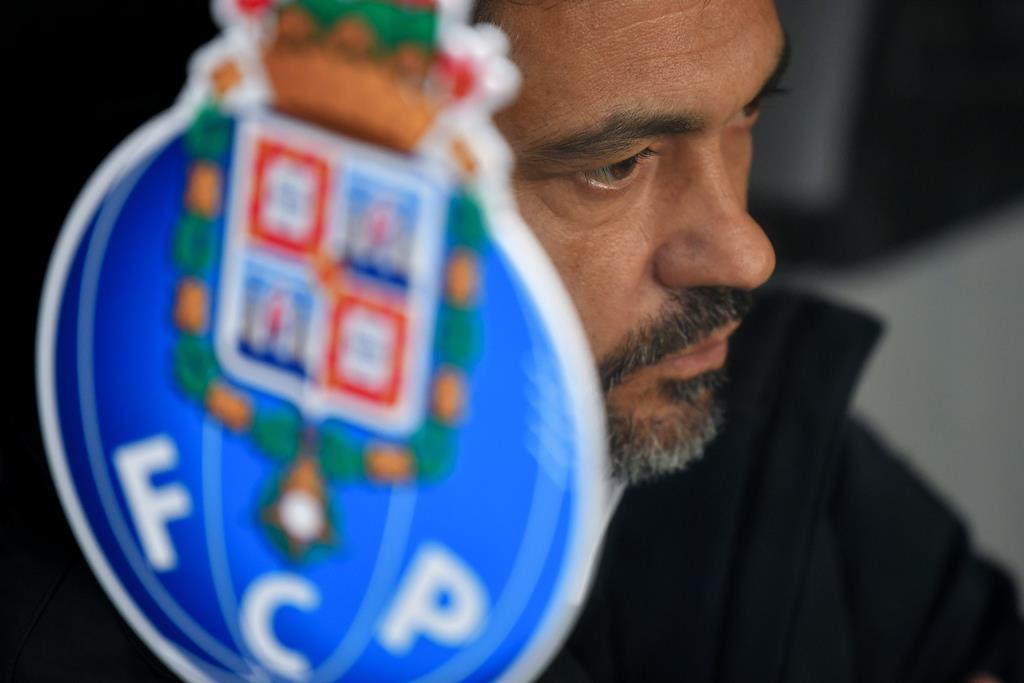 Sérgio Conceição entende que o cansaço mental provocado pela Covid-19 não pode quebrar futebolistas e treinadores Foto: Hugo Delgado/Lusa