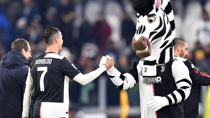 Cristiano Ronaldo pode conseguir pleno em Itália, tal como fez em Inglaterra e Espanha