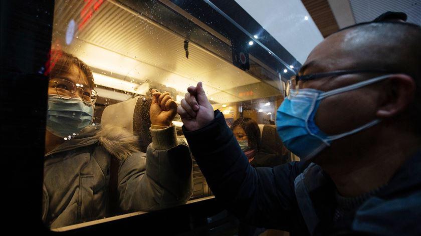 A China e a epidemia