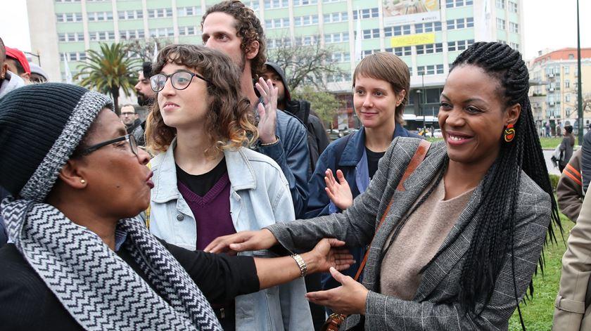 """Marcha contra o racismo e violência policial. Joacine apela a """"maior participação"""" da sociedade"""