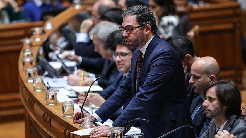 """OE 2021. Duarte Cordeiro pede """"confiança"""" aos deputados do PS e que não entrem em dramas"""