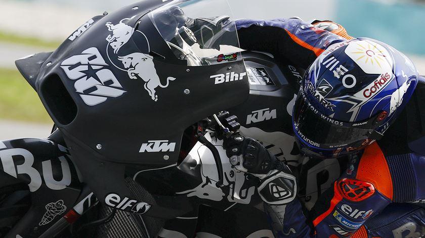 Moto GP. Miguel Oliveira faz 11.º tempo em Sepang