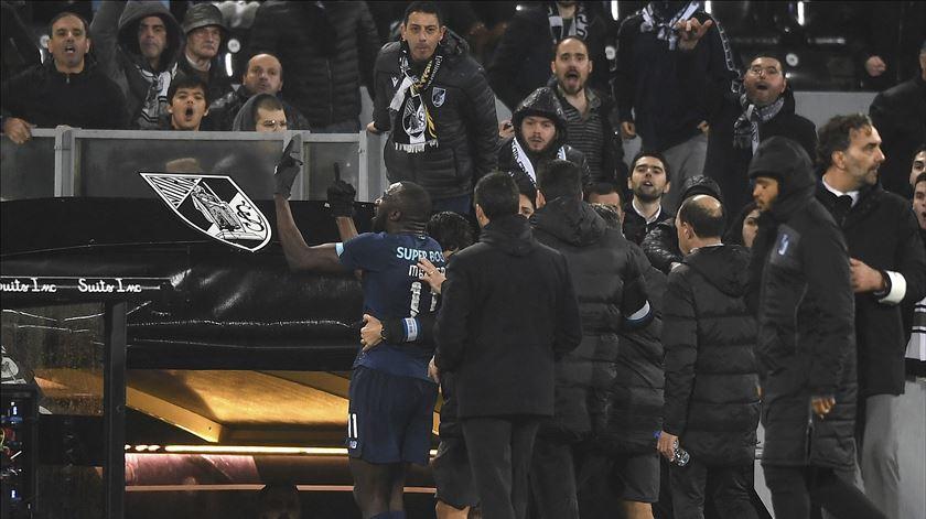 Magistrado no estádio abriu inquérito ao caso de racismo contra Marega