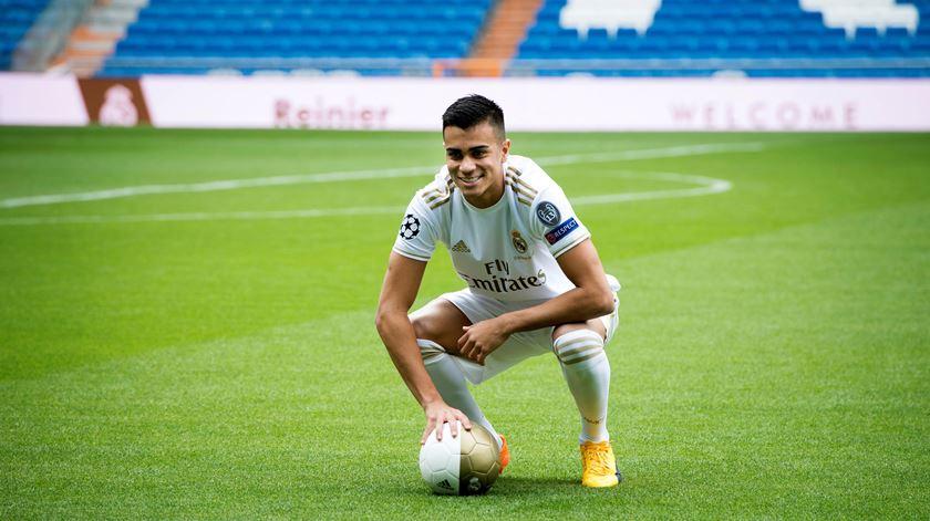 Reinier lembra-se de Jorge Jesus na apresentação pelo Real Madrid