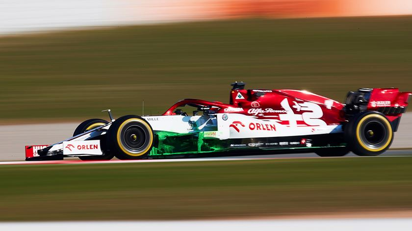 Fórmula 1. Raikkonen foi o mais rápido no segundo dia de testes