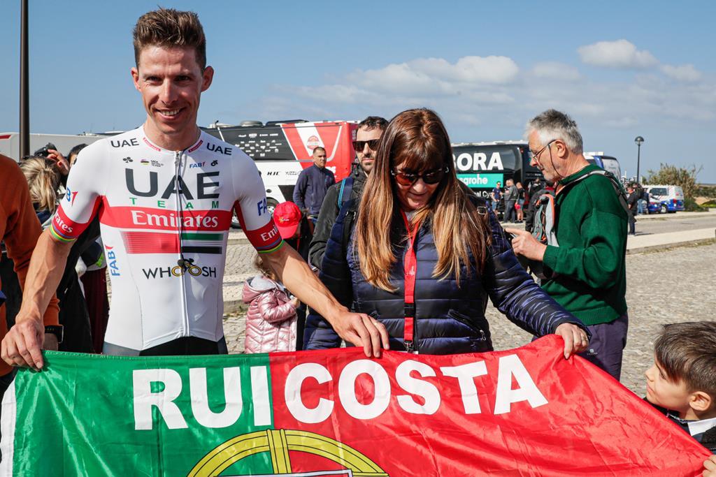 Rui Costa é o principal favorito à vitória na Volta ao Algarve Foto: Luís Forra/Lusa