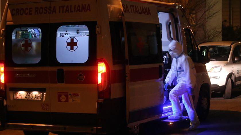 Coronavírus faz segunda vítima em Itália