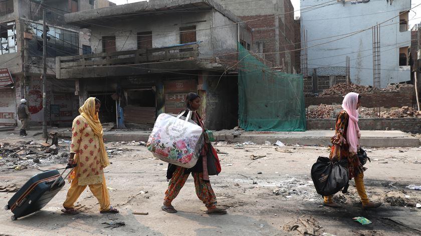 Lei da nacionalidade na Índia. Nova Deli vive pior onda de violência inter-religiosa das últimas décadas