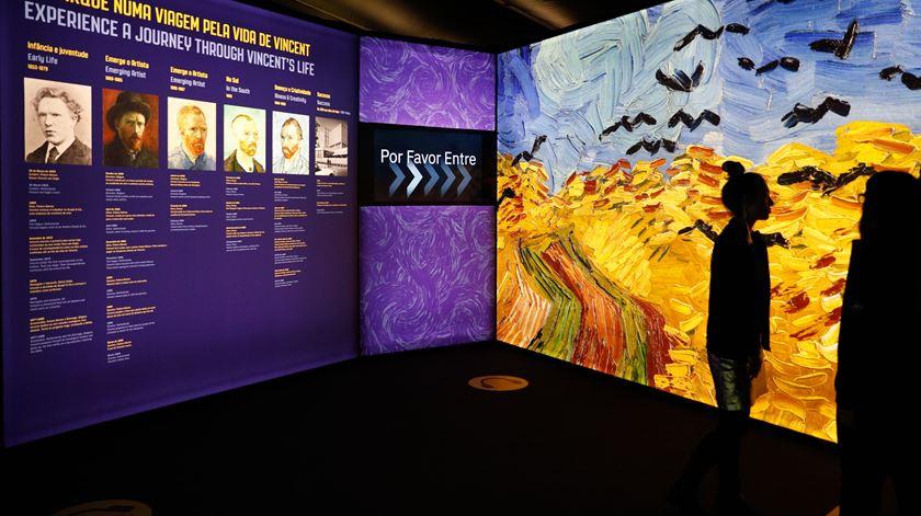 Rita Duarte da Produtora UAU apresenta a exposição Meet Vincent Van Gogh