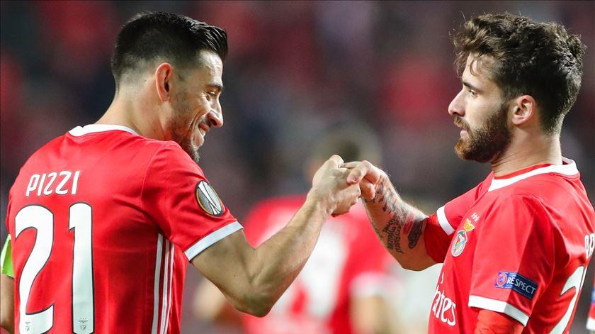 """Benfica tem 25 jogadores e """"são todos muito profissionais"""""""