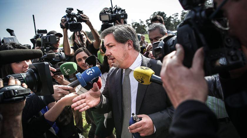 """Pedido de absolvição """"recuperou um pouco a crença"""" de Bruno de Carvalho na justiça"""