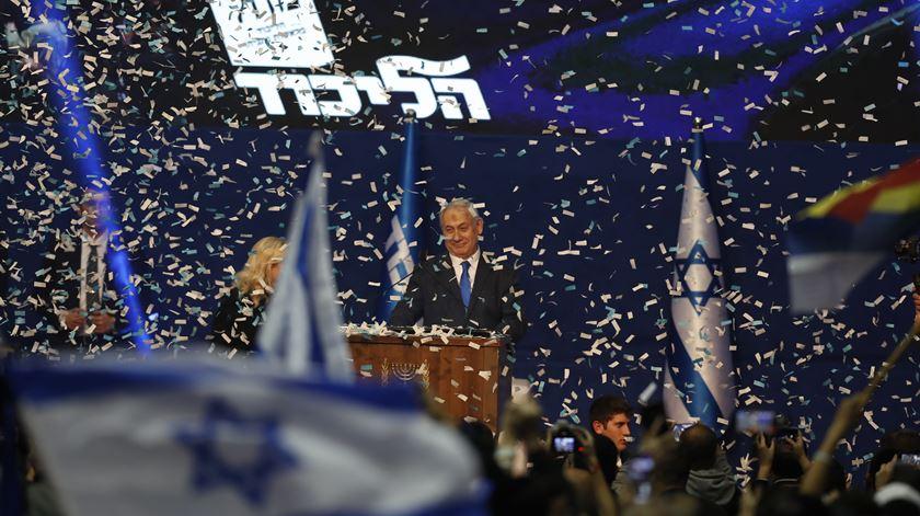 15 dias antes do julgamento, Netanyahu reivindica vitória nas eleições legislativas