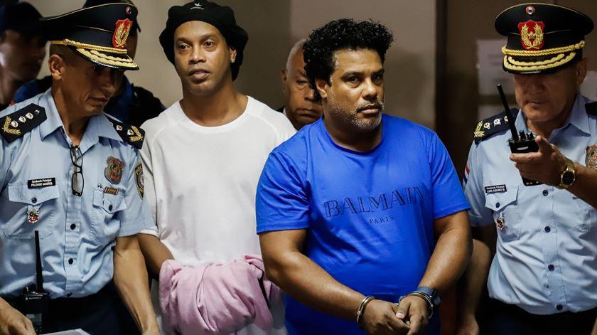 Paraguai. Ronaldinho Gaúcho passa a prisão domiciliária