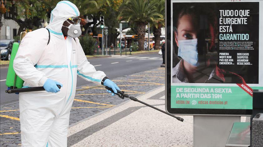 Coronavírus. Madeira com mais um caso ativo