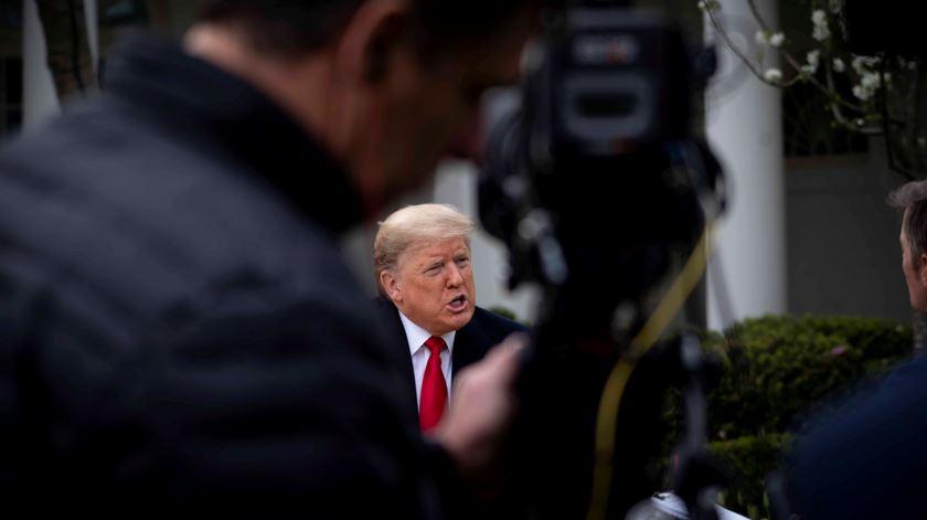 """""""Não sabemos os números da China"""". Trump atribui número de infetados aos testes"""