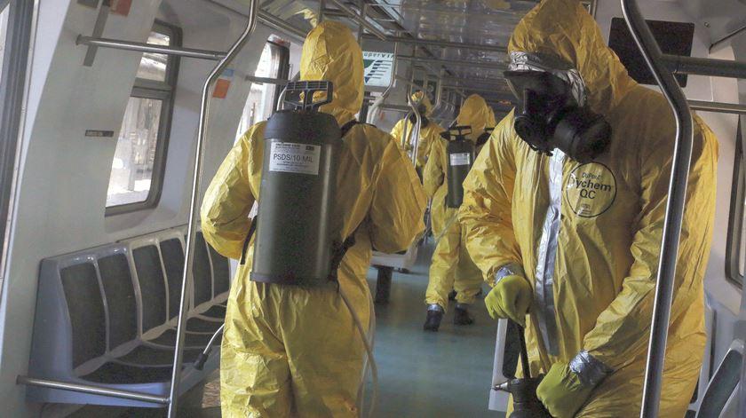 Coronavírus. Morreram 67 pessoas no Brasil em 24 horas