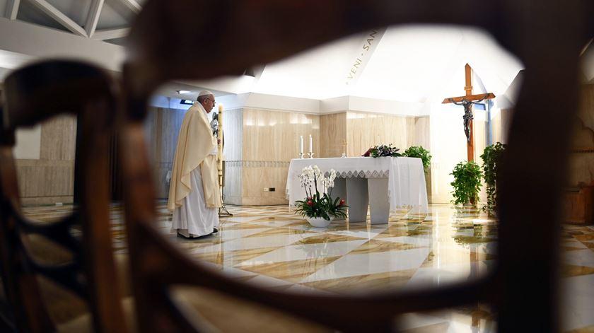 """Papa reza pela unidade da Europa e encoraja os cristãos perseguidos. """"Somos um único corpo"""""""