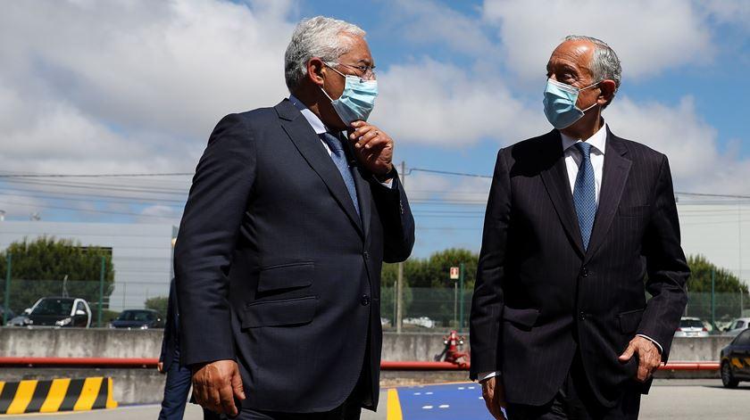 """Costa elogia """"enorme sobriedade"""" do Presidente da República sobre 10 de Junho"""