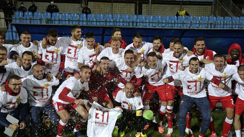 Tomané é campeão da Sérvia, Estrela Vermelha é tri