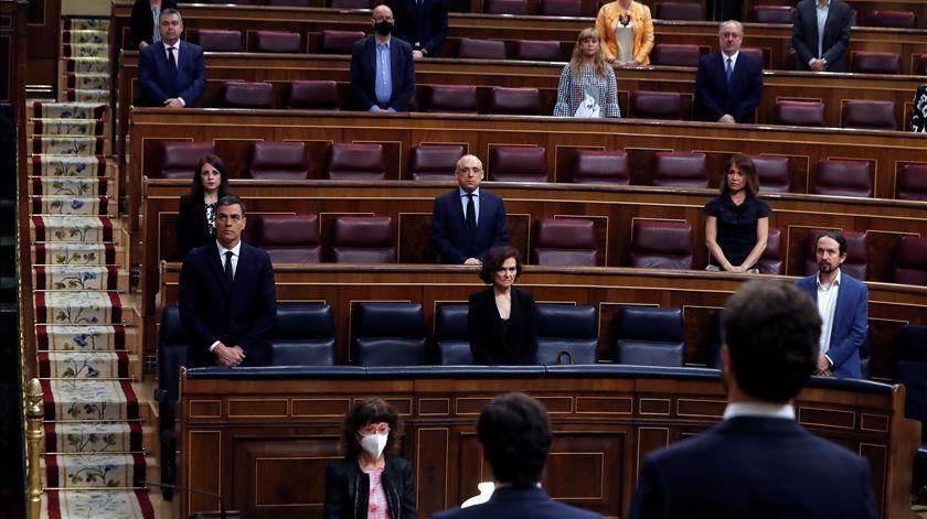 Parlamento espanhol autoriza extensão do estado de emergência até 20 de junho