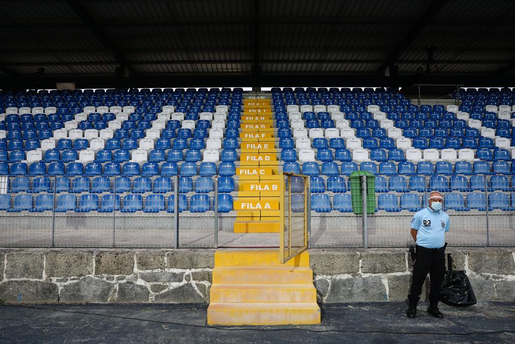Estádios não receberam adeptos esta época. Foto: José Coelho/Lusa