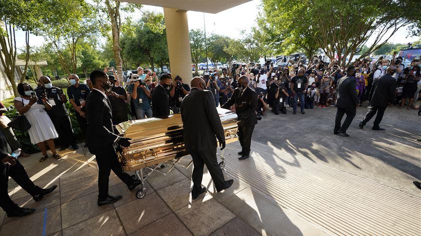 EUA. Houston presta última homenagem a George Floyd