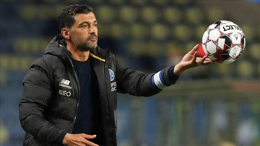"""Sérgio Conceição. """"Segunda parte à FC Porto"""""""
