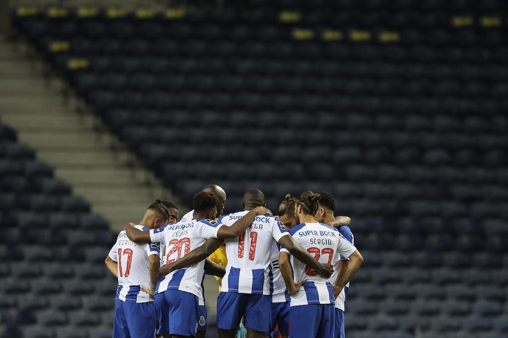 FC Porto joga futuro na Liga dos Campeões frente à Juventus em Turim Foto: José Coelho/Lusa