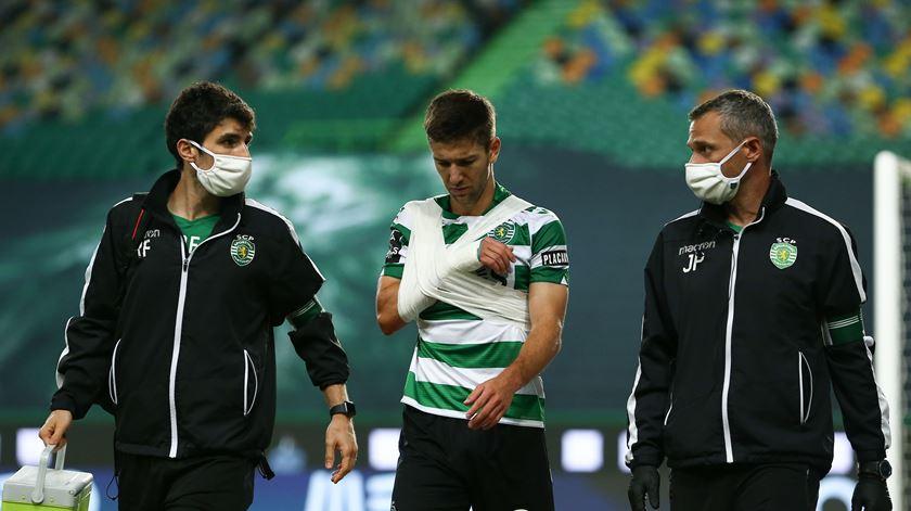 Vietto a um passo da recuperação no regresso do Sporting a Alcochete