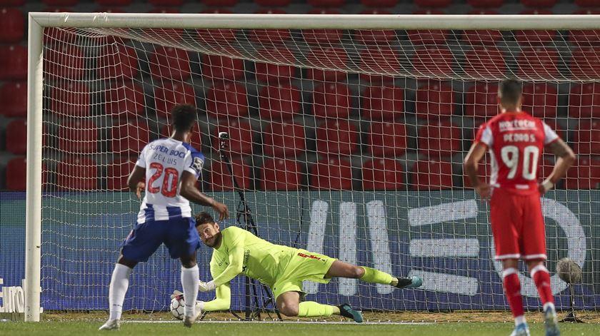 Zé Luís não treinou no FC Porto e é dúvida para o Boavista