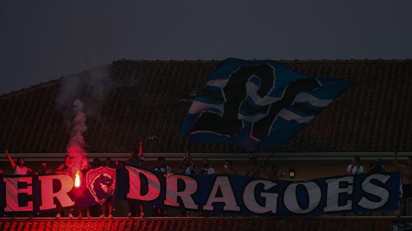 FC Porto recebido em festa no Dragão