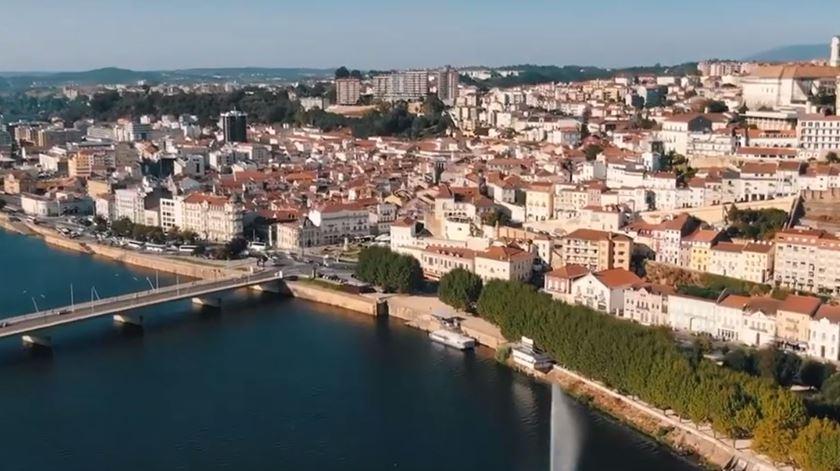 Filme promocional da Região de Coimbra vence prémio na Sérvia - Reportagem de Paulo Leitão