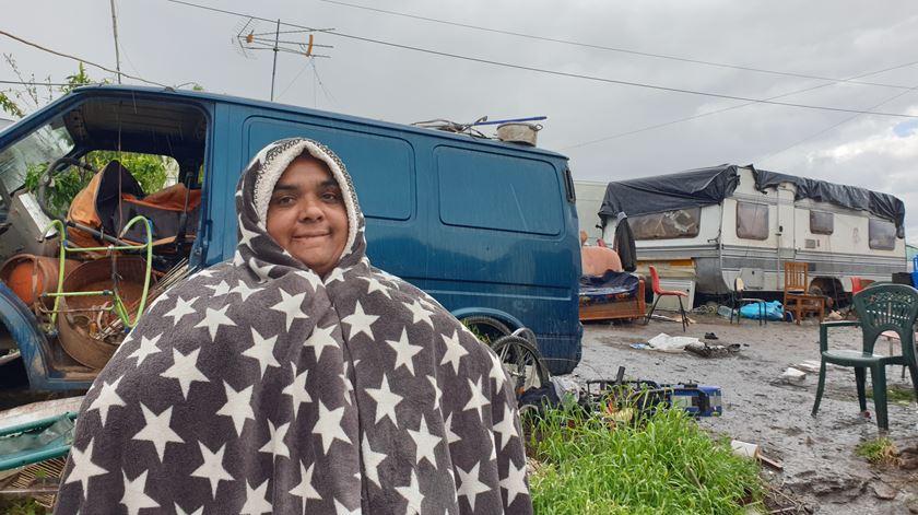 Dolores Sofia queixa-se das condições que os os filhos não têm para continuar os estudos Foto: Olímpia Mairos/RR