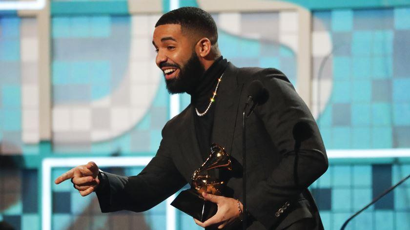Discurso de Drake cortado após desvalorizar Grammys