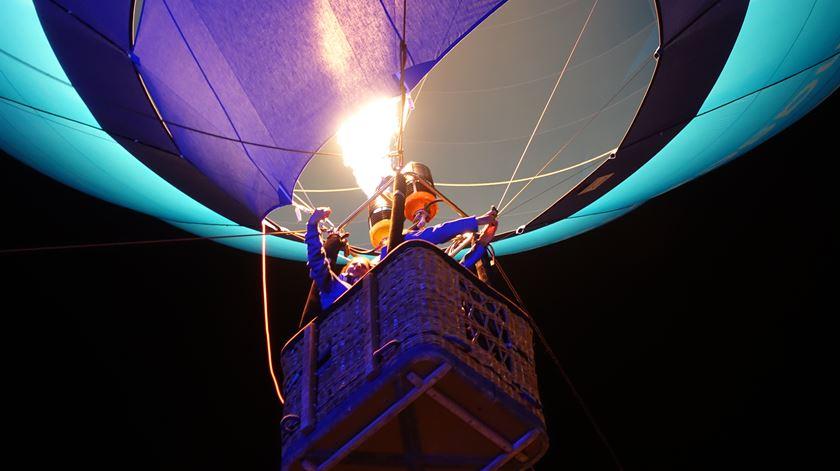 Balão de Ar Quente Renascença no Largo Amor de Perdição, Porto  Foto: Ricardo Fortunato