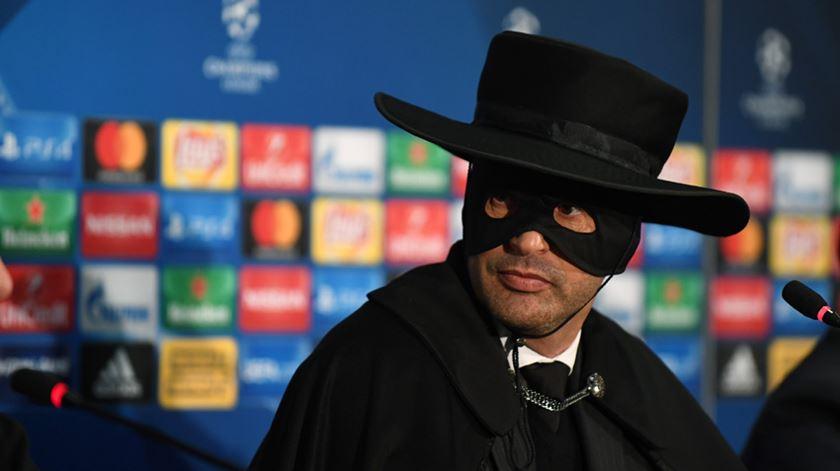 """Paulo """"Zorro"""" Fonseca e a conferência de imprensa """"mais bem disposta"""" a que já assistiu"""