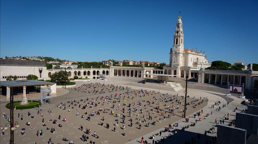13 de outubro sem enchente em tempo de Covid-19. Santuário de Fátima não atingiu lotação