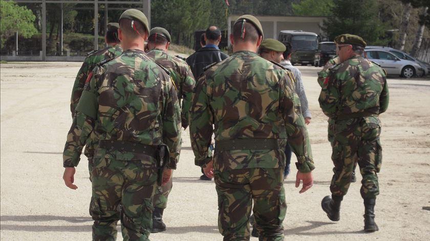 Exército. 22 militares estão infetados com o novo coronavírus