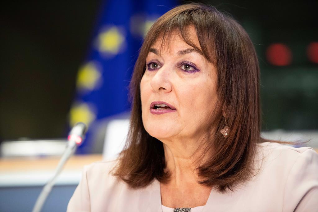 Dubravka Šuica, a primeira vice-presidente da Comissão Europeia com o pelouro da Democracia e Demografia. Foto: Comissão Europeia