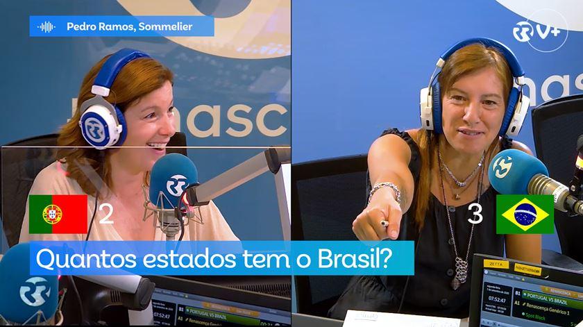 Duelo Portugal vs Brasil - As Três Da Manhã