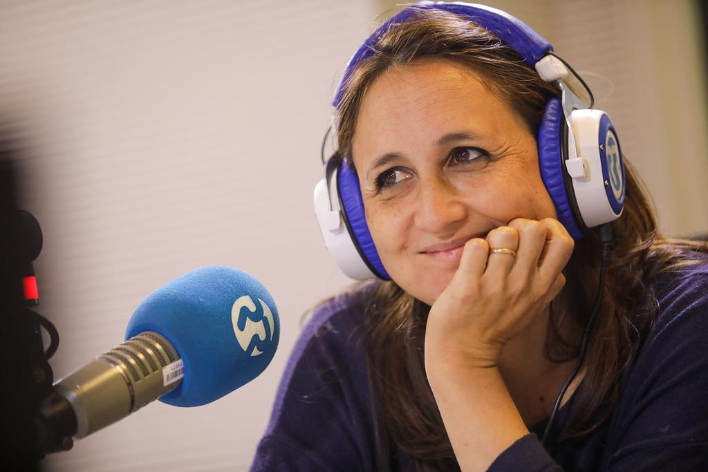 Joana Carneiro com As Três da Manhã no aniversario da Renascença Foto: Joana Bourgard/RR